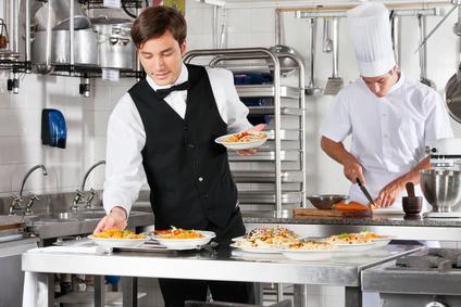 Kellner für renommierte Hotels und Restaurants