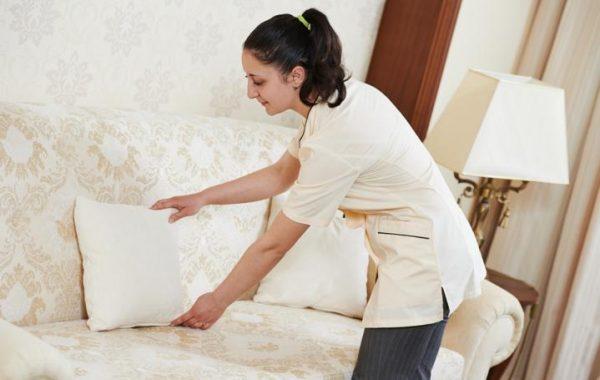 Zimmermädchen für renommierte Hotels
